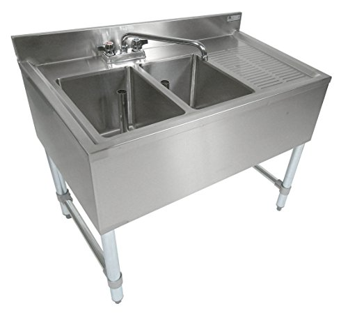 John Boos Eub2s36 1rd Stainless Steel Bar Sink 2